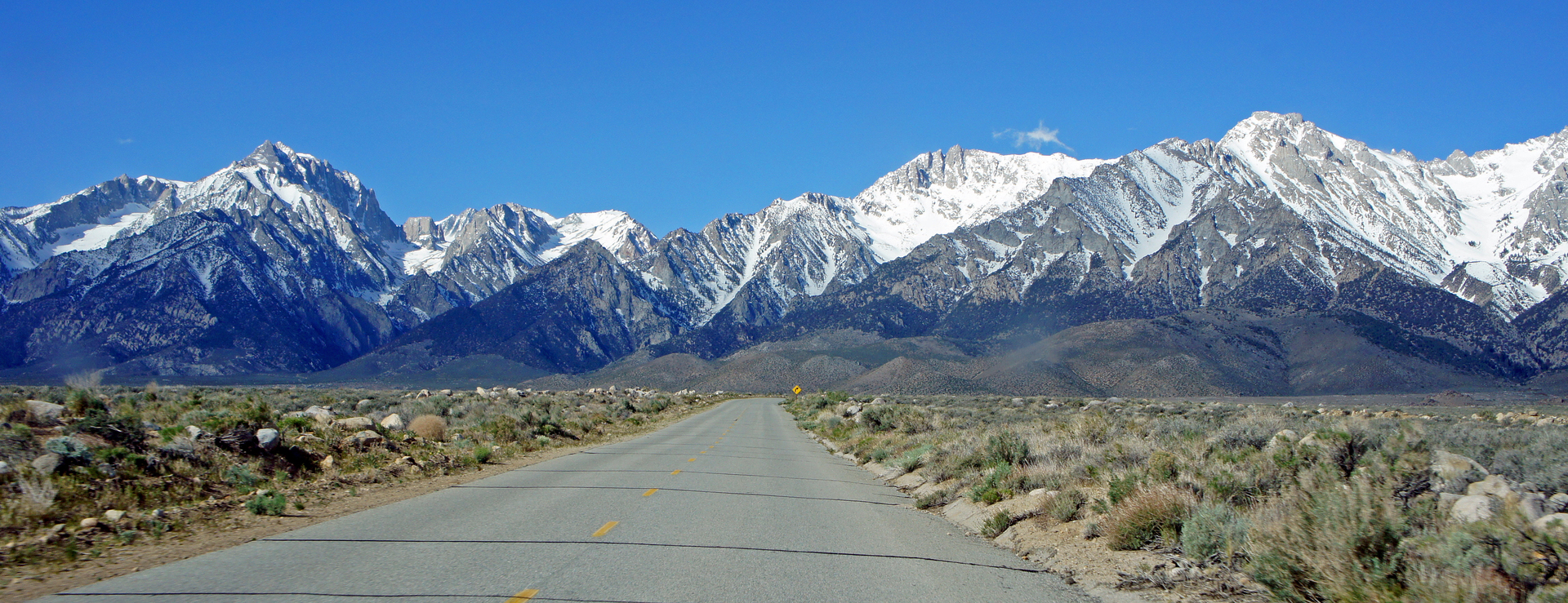 approaching the Sierra escarpment