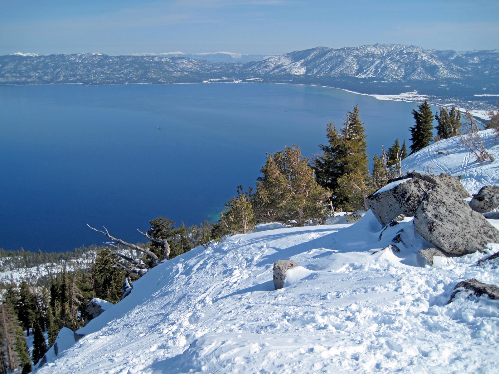 west shore Lake Tahoe, California