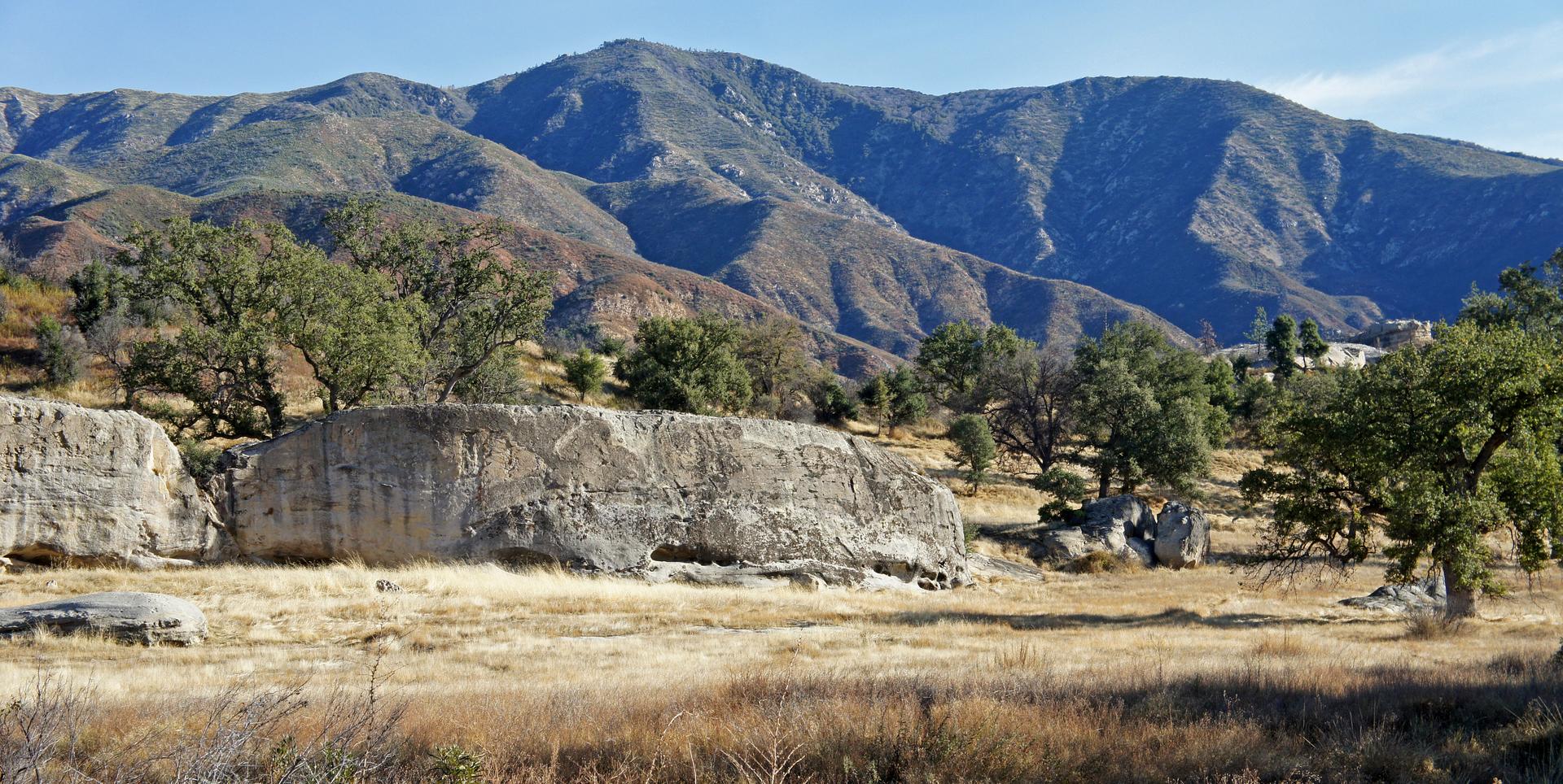 the highest peak in the Ventana Wilderness, California