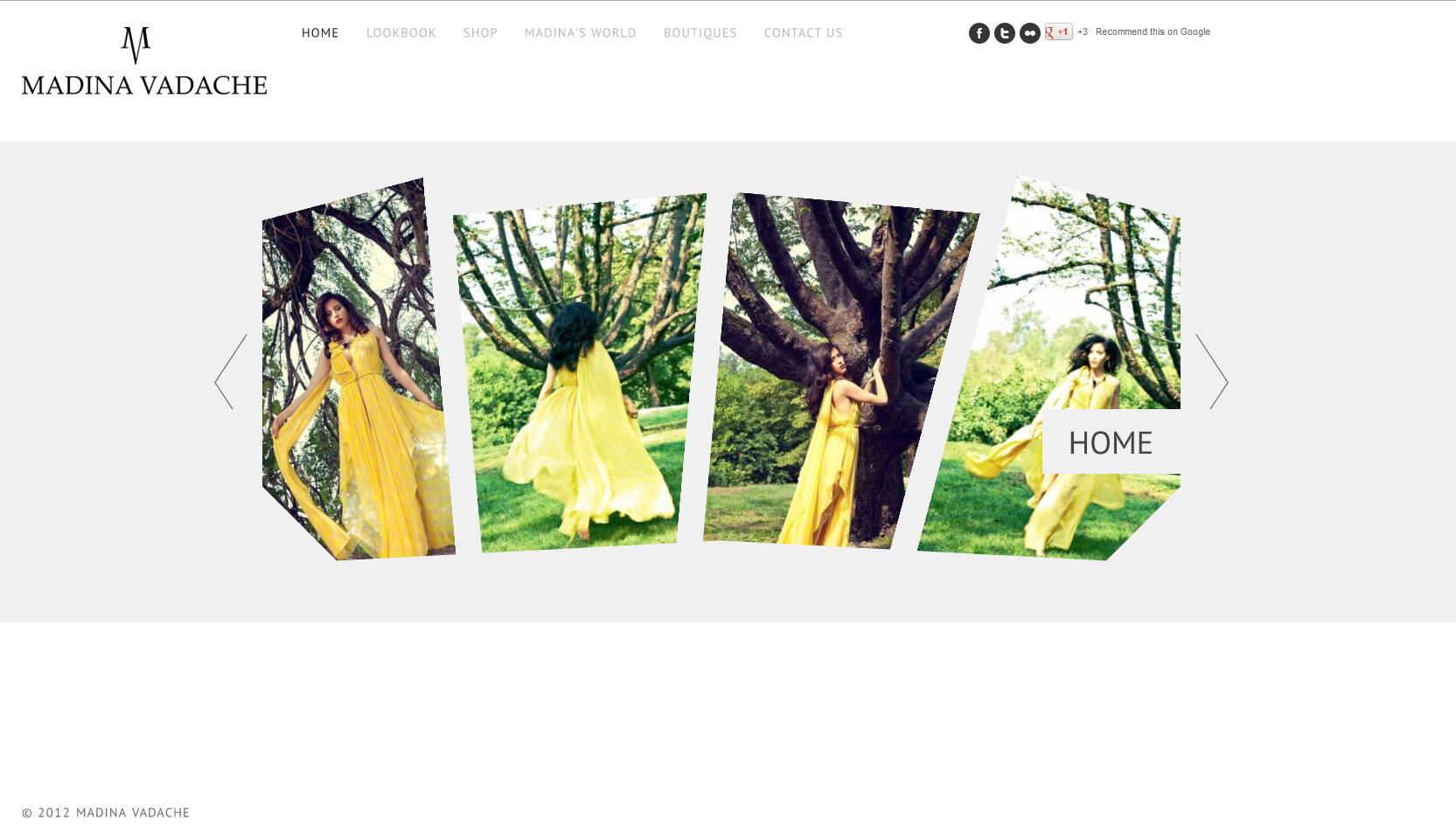 Designer: Madina Vadache <br />Photography: Roman Levitskiy <br />Hair &amp; MakeUp: Rosaline Hampton <br />http://www.madinavadache.com/ <br />