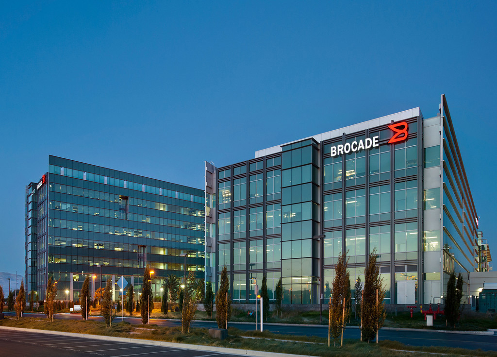 offices   first    brocade headquarters campus